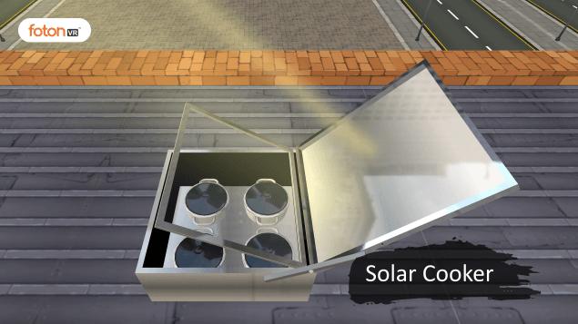 Virtual tour 8 Solar Cooker