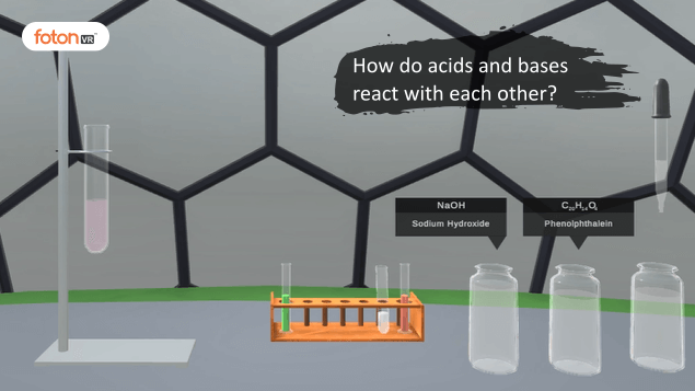Virtual tour 9 How do acids and bases react with each other